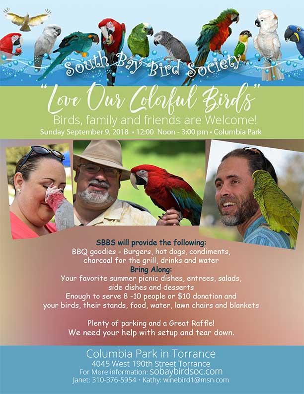 SBBS Flyer Sept 2018 Picnic